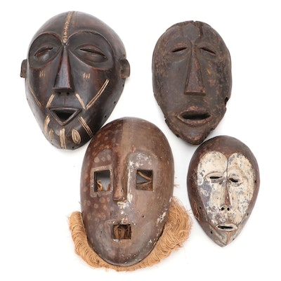 Lega Style and Other Central African Masks