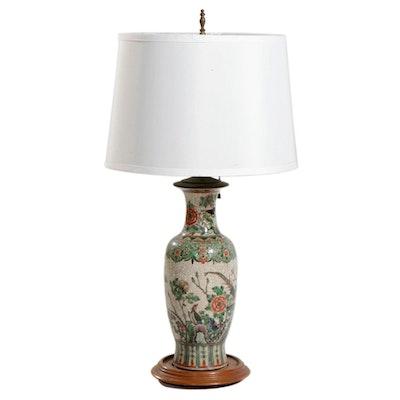 Chinese Ceramic Vase Table Lamp