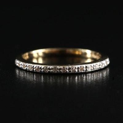 Sterling White Zircon Ring