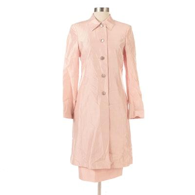 Akris Mid-Length Jacket and Matching Skirt