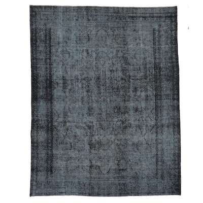 9'9 x 12'3 Hand-Knotted Persian Overdyed Room Sized Rug