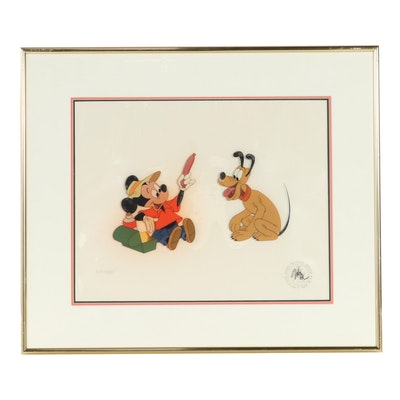 """Disney Animation Cel """"The Simple Things"""""""