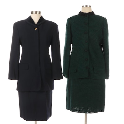 Jones New York and Other Knitwear Skirt Suits