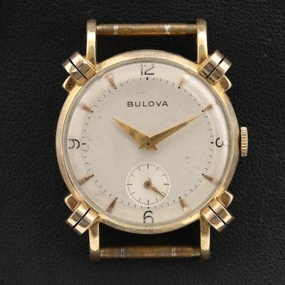 1950 Bulova Stem Wind Wristwatch