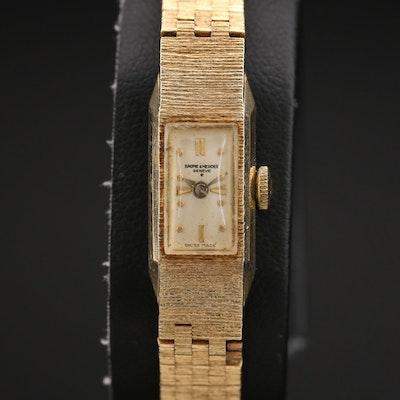 Baume & Mercier 14K Stem Wind Wristwatch