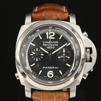 Panerai Luminor 1950 Rattrapante PAM213 Stainless Steel Wristwatch