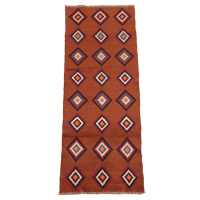 2'4 x 6'7 Hand-Knotted Northwest Persian Gabbeh Carpet Runner