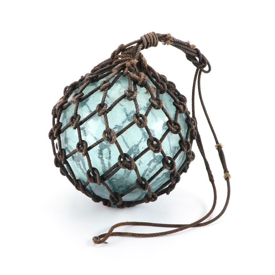 Blown Glass Fishing Net Float