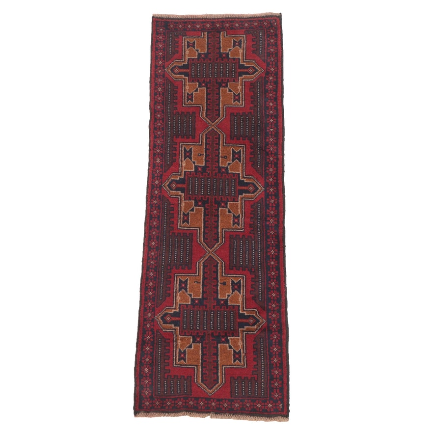 2'3 x 6'9 Hand-Knotted Northwest Persian Carpet Runner