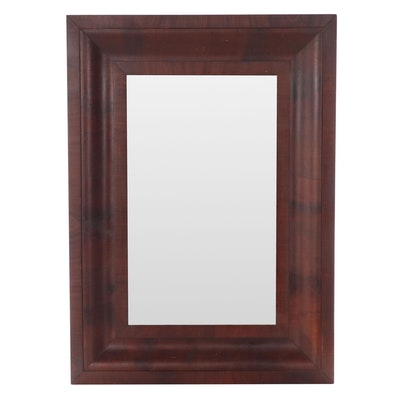 Wood Wall Mirror, Late 20th Century