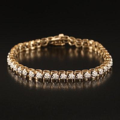 10K 1.05 CTW Diamond Bracelet