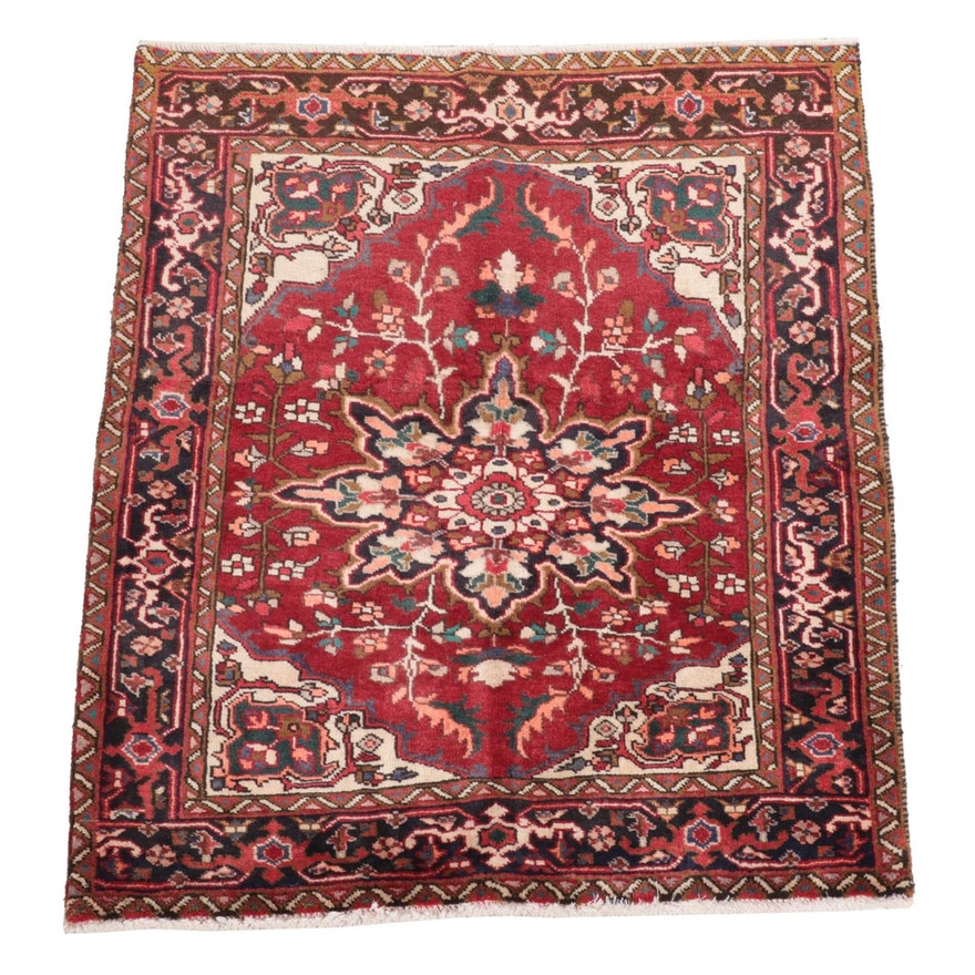 3'6 x 4'3 Hand-Knotted Persian Ahar Area Rug