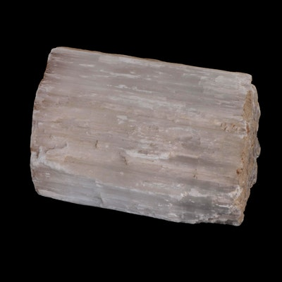 Large Rough Selenite Mineral Specimen