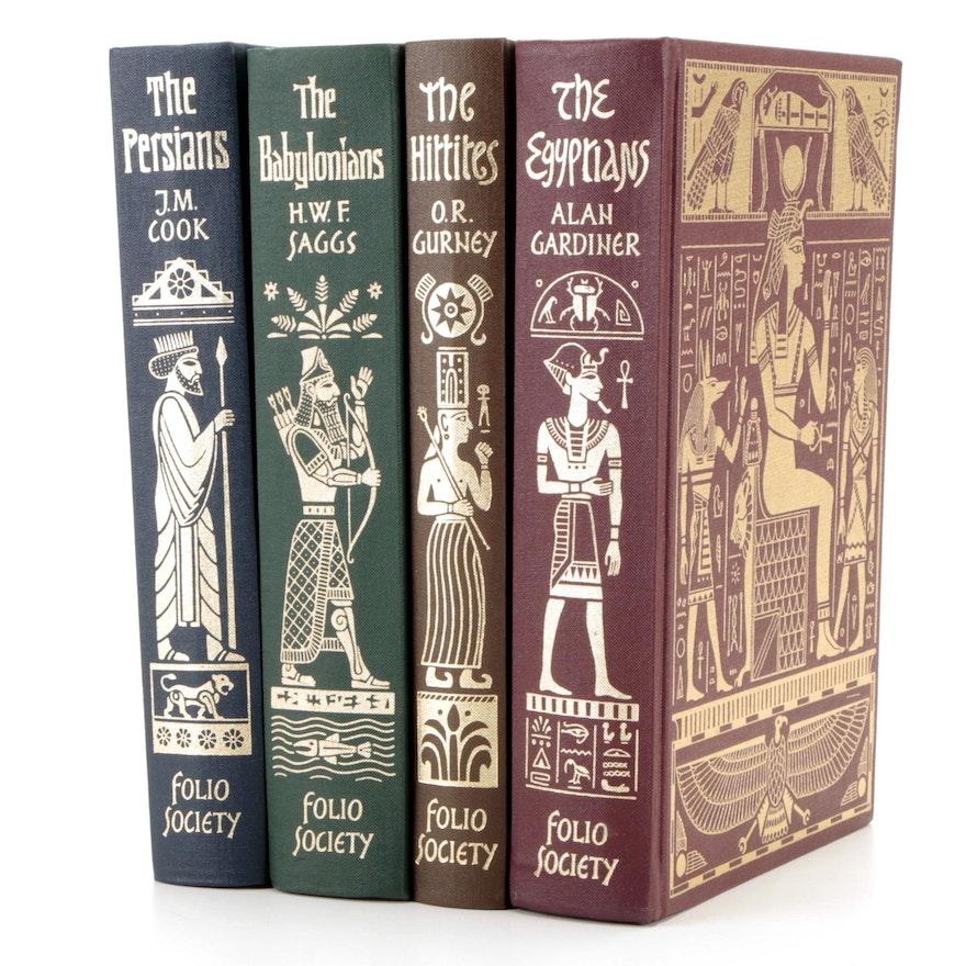 "Folio Society ""The Empires of the Near East"" Four-Volume Set"