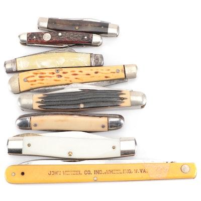 Case, Schrade, Hammer and Other Folding Pocket Knives