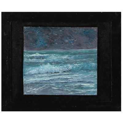 "Chico Wheeler Oil Painting ""Florida Highway Men"" Series"