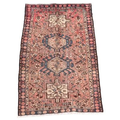 3'6 x 5'8 Hand-Knotted Persian Karaja Area Rug