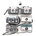 Kodak Instamatic and Imperial Magimatic Cameras, Mid to Late 20th Century