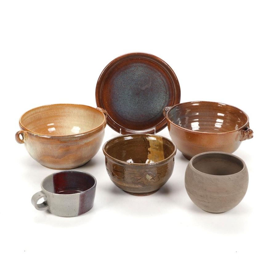 Hand-Thrown Ceramic Bowls