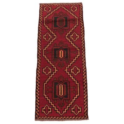 2'5 x 6'8 Hand-Knotted Persian Kelardasht Carpet Runner