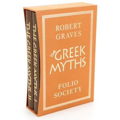 """""""The Greek Myths"""" Two-Volume Set, Compiled by Robert Graves, 2001"""
