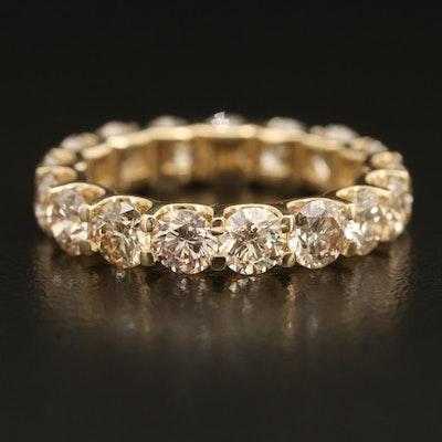 14K 3.50 CTW Diamond Eternity Ring