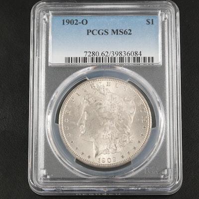 PCGS Graded MS62 1902-O Morgan Silver Dollar