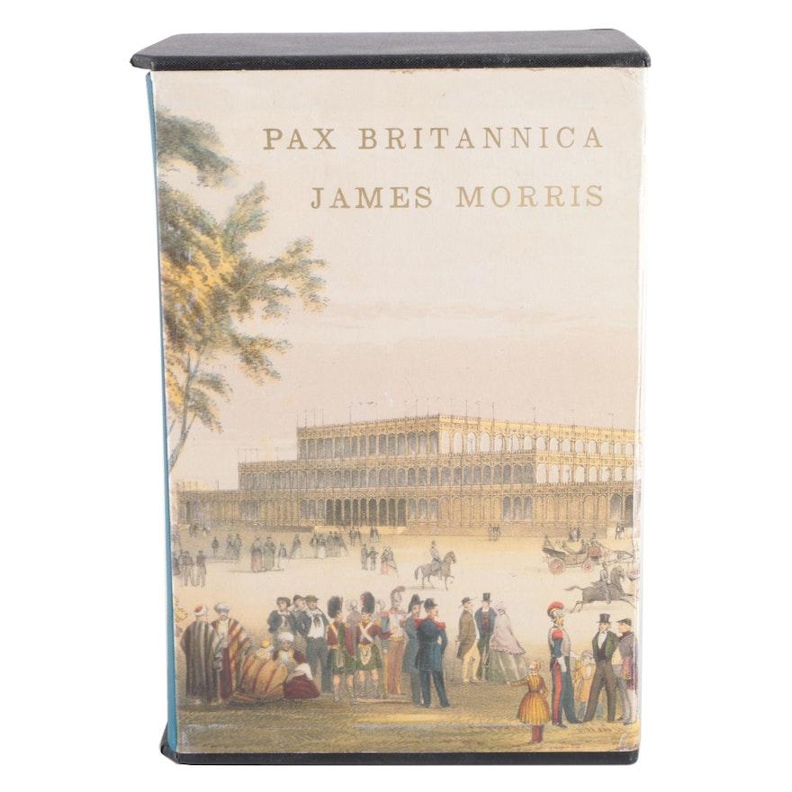 "Folio Society ""Pax Britannica"" Three-Volume Box Set by James Morris, 1994"