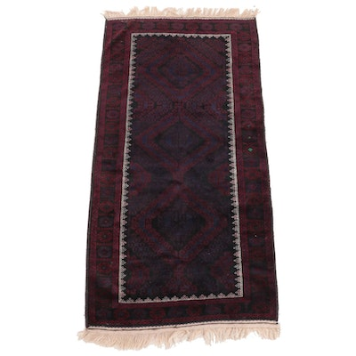 3'9 x 8'5 Hand-Knotted Pakistani Baluch Area Rug from Bloomingdale's
