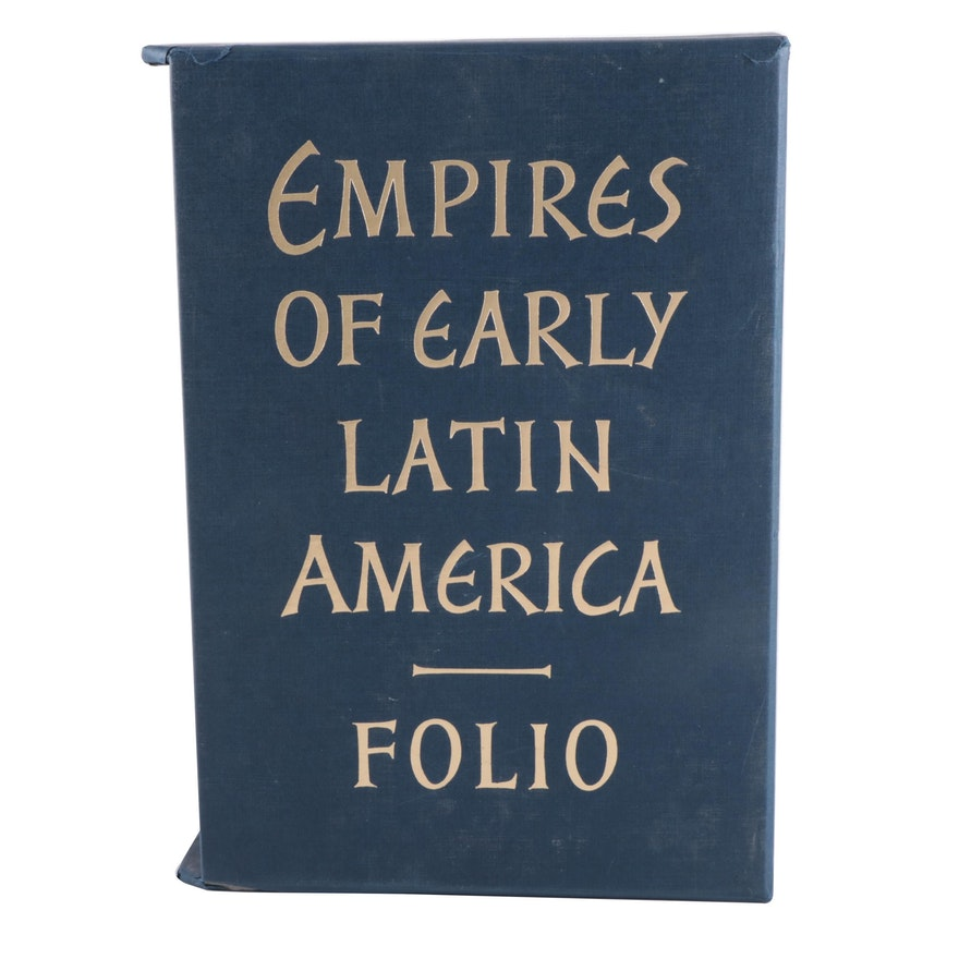 "Folio Society ""Empires of Early Latin America"" Three-Volume Box Set, 2012"