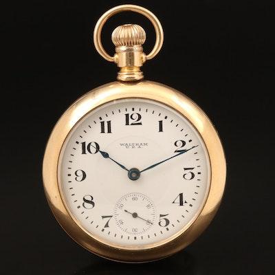 1917 Waltham 14K Gold Filled Pocket Watch
