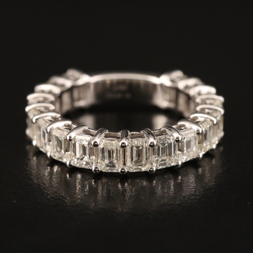 18K 3.42 CTW Diamond Band