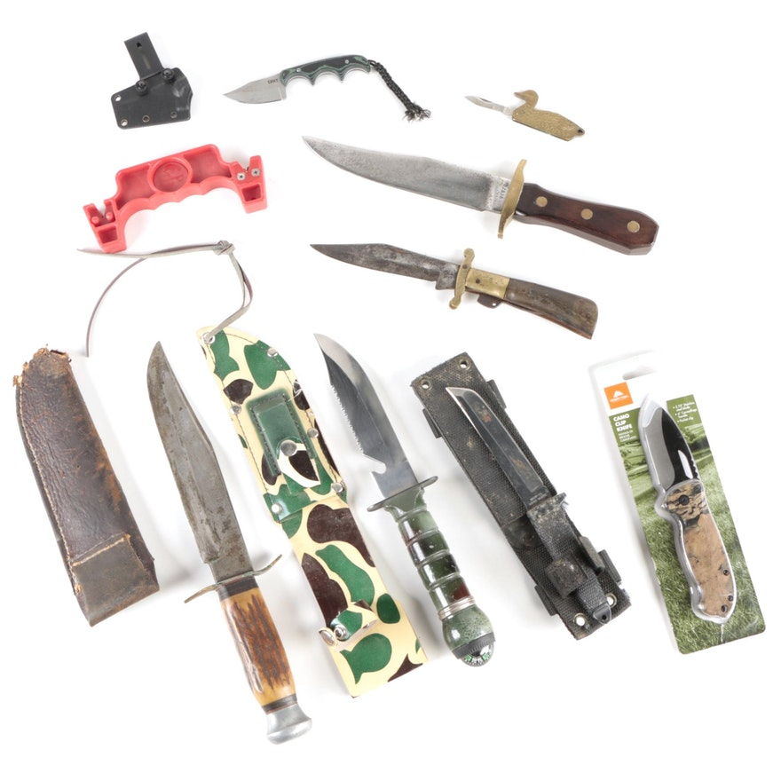 Gambill, Sheffield Steel, Taylor/Seto, and Other Fixed Blade and Folding Knives