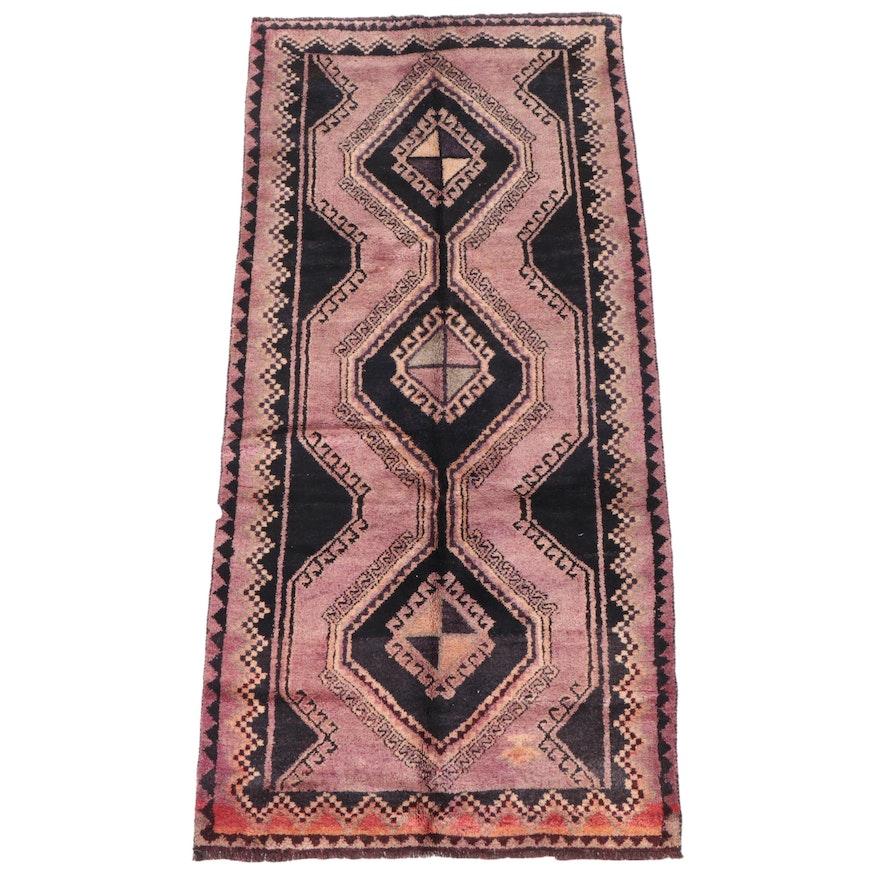 4'2 x 9'1 Hand-Knotted Persian Kelardasht Long Rug