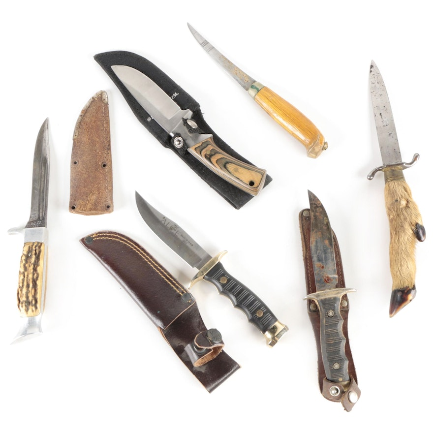 Winchester, Alce, Othello, Zak, and Other Fixed Blade Knives