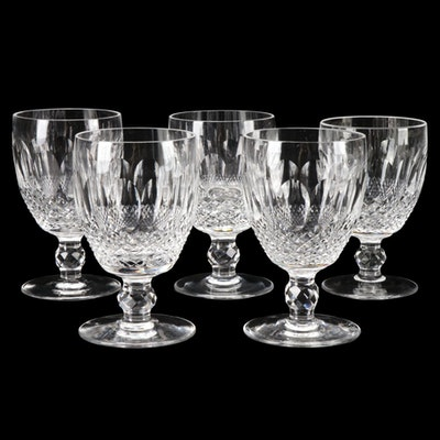 """Waterford Crystal """"Colleen"""" Water Goblets"""