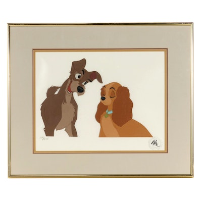 """Disney Animation Cel """"Lady and the Tramp"""""""