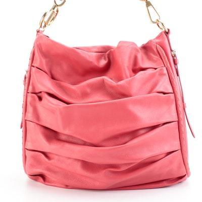 Christian Dior Libertine Bag in Pleated Lambskin Leather