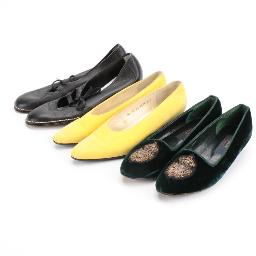 Robert Clergerie, Allen Solly, and Life Stride Pumps and Flats