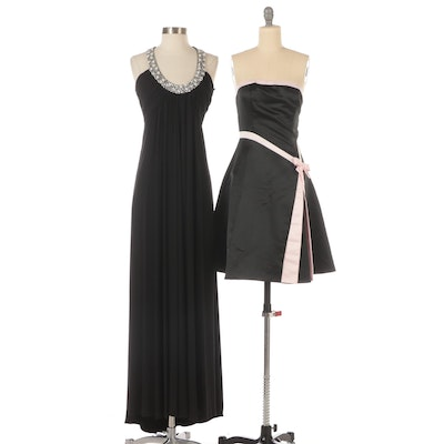 JS Boutique and Jessica McClintock Embellished Occasion Dresses