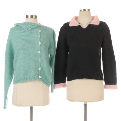 Nantucket Designer Knits Wool and Cotton Sweaters