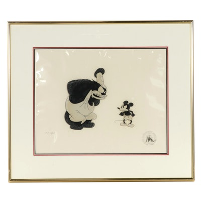 "Disney Animation Cel ""Steamboat Willie"""