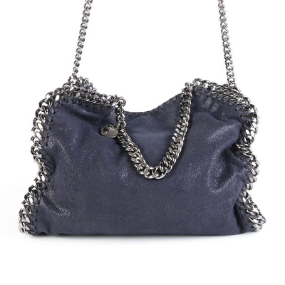 Stella McCartney Falabella Shoulder Bag in Faux Suede