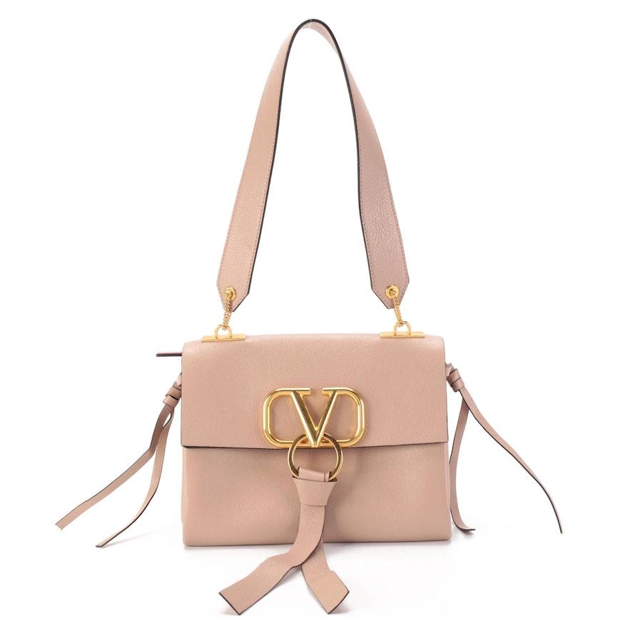 Valentino Garavani Leather Shoulder Bag signed by Diane Ladd
