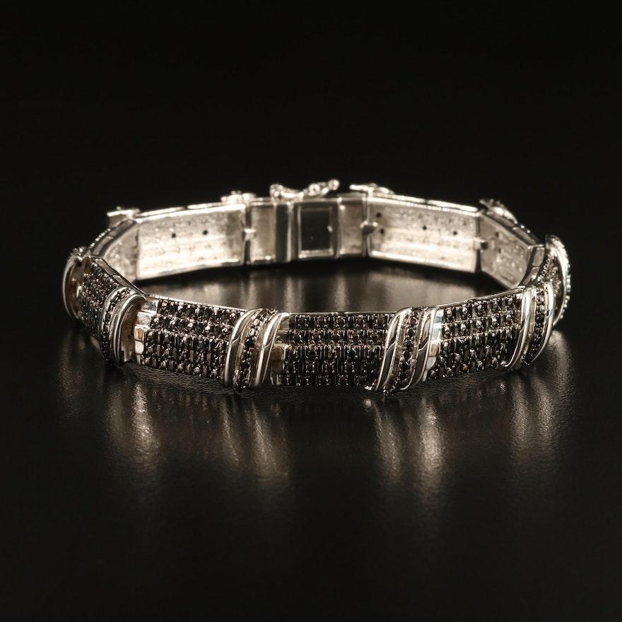 Spinel Panel Bracelet