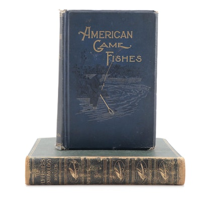 """""""The Fly Fisher's Entomology"""" and """"American Game Fishes"""" Books"""