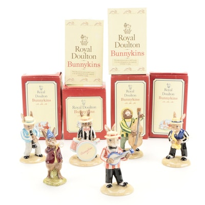 """Royal Doulton Jazz Band Collection and """"Rise and Shine"""" Bunnykins Figurines"""