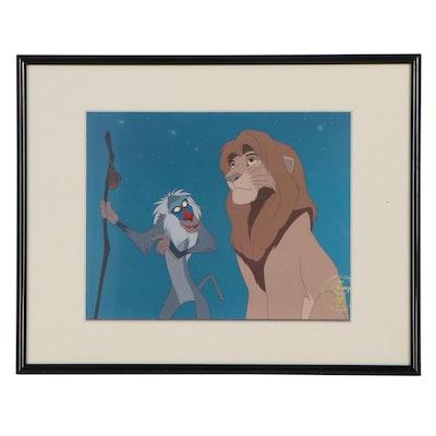 "Disney Commemorative Offset Lithograph ""The Lion King"", 1995"