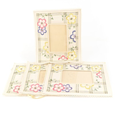 Hanging Fabric picture Frames