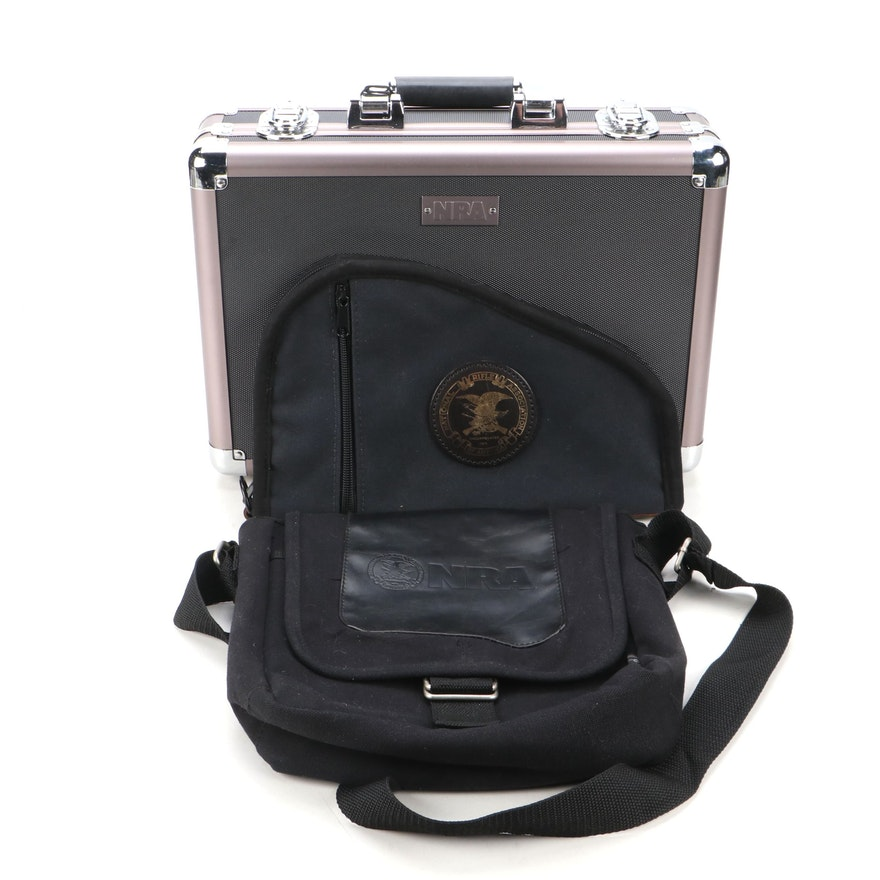 National Rifle Association Gun Case, Storage Bag and Crossover Bag